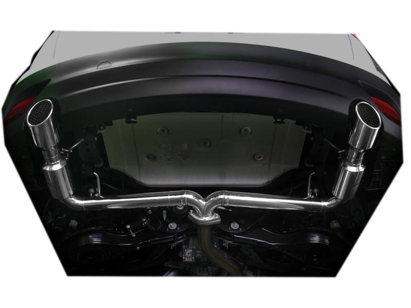 CX-5用リアマフラー【チタンテール】