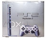 【中古】PS2ハード プレイステーション2本体 サテン・シルバー(SCPH-75000 SSS)