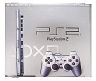【中古】PS2ハード プレイステーション2本体 サテン・シルバー(SCPH-77000SS)