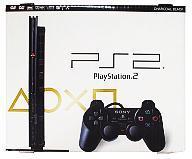 【中古】PS2ハード プレイステーション2本体 チャコールブラック(SCPH-79000CB)