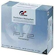【中古】PS2ハード プレイステーション2本体 Racing Pack セラミックホワイト