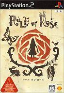 【中古】PS2ソフト RULE of ROSE