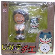 【中古】フィギュア チエちゃん&小鉄「じゃりン子チエ」ソフビ塗装済み完成品