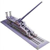 【新品】プラモデル 1/72 ドイツ列車砲 80cmK(E)ドーラ[82911]