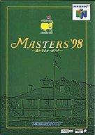 中古 中古 舗 ニンテンドウ64ソフト マスターズ'98 ~遙かなるオーガスタ~
