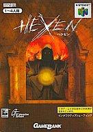 中古 ニンテンドウ64ソフト モデル着用 注目アイテム HEXEN ヘクセン 無料サンプルOK