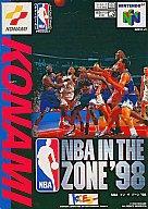 中古 新作多数 ニンテンドウ64ソフト NBA IN 人気の製品 ZONE'98 THE SPG