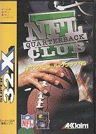 【中古】メガドライブソフト(スーパー32X) NFLクォーターバッククラブ'95