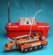 【中古】ラジコン その他(本体) ラジコン 1/144 フルアクション磁力牽引車 「サンダーバード」 レスキューメカコレクション 49MHz仕様 [648277]