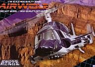 【中古】フィギュア 新世紀合金 SGM-08 AIR WOLF(ウェザリング塗装仕様) 「超音速攻撃ヘリ エアーウルフ」 1/48 ダイキャストモデル