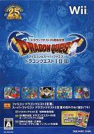 中古 Wiiソフト 直営店 ドラゴンクエスト25周年記念 高品質 ファミコン スーパーファミコン 初回版 ドラゴンクエストI II III