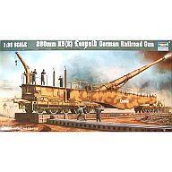 【中古】プラモデル 1/35 280mm K5(E) Leopold German Railroad Gun [00207]【タイムセール】