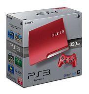 【中古】PS3ハード プレイステーション3本体 スカーレット・レッド(HDD 320GB/CECH-3000BSR)