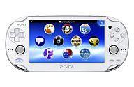 【中古】PSVITAハード PlayStation Vita本体<<Wi-Fiモデル>>(クリスタル・ホワイト)[PCH-1000 ZA02]