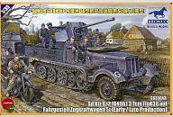 【中古】プラモデル 1/35 Sd.Kfz.6/2 3.7cm Flak36 auf Fahrgestell Zugkraftwagen 5t[ CB35043]