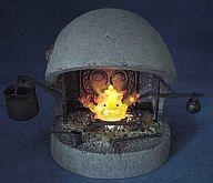 【中古】フィギュア カルシファー 暖炉セット 「ハウルの動く城」 スタジオジブリイメージモデルコレクションXI