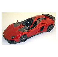 【中古】ミニカー 1/43 Lamborghini Aventador J(オレンジアトラス) Geneva Motor Show 2012 [LS398E]
