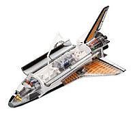 【中古】パズル 立体パズル 1/72 スペースシャトル 「4DVISIONビークルカットモデル NO.1」 [78297]