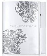 【中古】PS3ハード プレイステーション3本体 HDD80GB [龍が如く3 昇り龍パック仕様(セラミックホワイト)](本体単品/付属品無) (箱説なし)