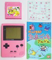 【中古】GBハード ゲームで発見!!たまごっち ピンクなTAMAGOTCHセット(ゲームボーイポケット本体同梱)[限定版]