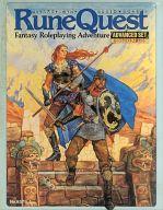 【中古】ボードゲーム ルーンクエスト上級セット 日本語版 (Rune Quest Advanced Set) [8579-1]