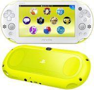 【中古】PSVITAハード PlayStation Vita本体 Wi-Fiモデル ライムグリーン・ホワイト[PCH-2000]