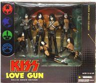 【中古】フィギュア KISS LOVE GUN DELUXE BOXED EDITION(7体セット) 「KISS」 スーパーステージフィギュア【タイムセール】