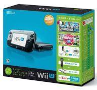 【中古】WiiUハード Wii U すぐに遊べるファミリープレミアムセット + Wii Fit U(クロ)
