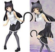 【中古】フィギュア 黒猫~ネコミミver.~ 「俺の妹がこんなに可愛いわけがない。」 1/8 塗装済み完成品【タイムセール】
