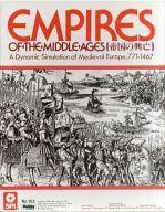 【中古】シミュレーションゲーム 帝国の興亡 日本語版 (Empire of the Midolle Age)