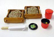 中古 食玩 即納 トレーディングフィギュア 限定タイムセール 2.もりそば 和食処 満喫 ぷちサンプルシリーズ