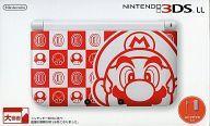 【中古】ニンテンドー3DSハード ニンテンドー3DSLL本体 マリオホワイト