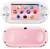 【中古】PSVITAハード PlayStaiton Vita本体 Wi-Fiモデル ライトピンク・ホワイト[PCH-2000]