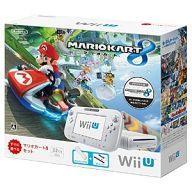 【中古】WiiUハード WiiU本体 マリオカート8セット shiro