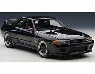 【中古】ミニカー 1/18 日産 スカイライン R32 GT-R グループA 1990年(ブラック) [89082]