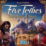 【中古】ボードゲーム ファイブ・トライブス:ナカラの魔人 (Five Tribes: the Djin of Naqala)【タイムセール】
