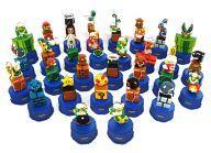 【中古】ペットボトルキャップ 全30種セット 「スーパーマリオブラザーズ ペプシ ドットボトルキャップ」