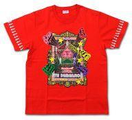 【中古】Tシャツ(女性アイドル) 百田夏菜子 5TH★DIMENSION Tシャツ レッド Lサイズ 「ももいろクローバーZ JAPAN TOUR 2013 5TH DIMENSION」