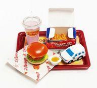 日本 中古 超特価 食玩 トレーディングフィギュア ぷちキッズセット ぷちサンプルシリーズ ぷちバーガー