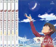 【中古】アニメBlu-ray Disc 神のみぞ知るセカイ 女神篇 初回限定版 全6巻セット