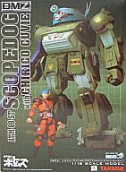 【中古】フィギュア [ランクB] DMZ-01 スコープドッグwithミクロアクション キリコ・キュービィー「装甲騎兵ボトムズ」