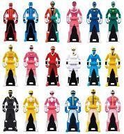 【中古】おもちゃ 全18種セット 「レジェンド戦隊シリーズ レンジャーキーシリーズ レンジャーキー04」
