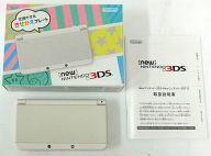 【中古】ニンテンドー3DSハード Newニンテンドー3DS本体 ホワイト(状態:ARカード欠品)