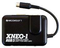 【中古】ネオジオROMハード ネオジオ用 アナログRGB/Sユニット XNEO-1 (本体単品/付属品無) (箱説なし)