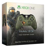 【中古】Xbox Oneハード ワイヤレスコントローラー マスターチーフ