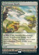 【エントリーでポイント最大19倍!(5月16日01:59まで!)】【中古】マジックザギャザリング/英語版FOIL/神話R/Zendikar Expeditions/土地 [神話R] : 【FOIL】Windswept Heath/吹きさらしの荒野