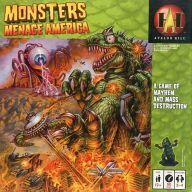 送料無料 smtb-u 中古 ボードゲーム モンスターズ 輸入 アメリカの脅威 海外輸入 日本語訳付き Menace America Monsters