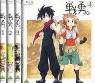 【中古】アニメBlu-ray Disc 戦勇。 初回版 全4巻セット