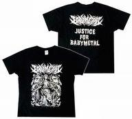 """【中古】Tシャツ(女性アイドル) BABYMETAL マリアTシャツ ブラック Mサイズ 「LEGEND""""1997"""" SU-METAL聖誕祭」"""