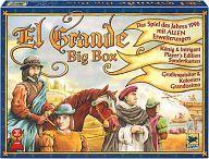 【中古】ボードゲーム エルグランデ ビッグボックス (El Gande Big Box)【タイムセール】